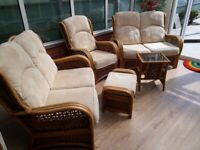 Luxury wicker 5 piece furniture