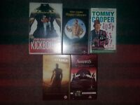 Selection of VHS films