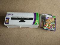 Xbox 360 Kinect Sensor with 4 games