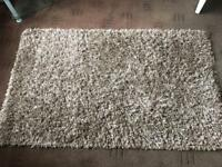 Beautiful Beige deep pile Shaggy Rug