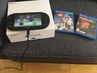 PS Vita Latest Slim Version, 8GB Memory Card + 2 games