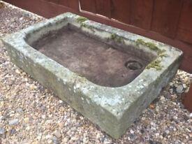 Concrete Garden Sink