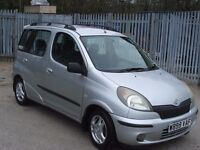 """TOYOTA YARIS VERSO (SOLD) 1.3Ltr """"MOT MARCH 2018"""" Lots S/History Last Owner 15Yrs"""