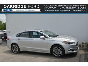 2017 Ford Fusion 4DR SDN SE AWD- NAVIGATION - MOONROOF- BACK-UP