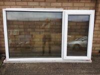 UPVC WHITE WINDOW FRAME complet x 2 - £85 each