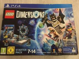 PS4. Lego Dimensions starter pack