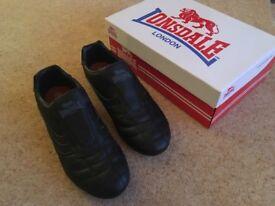 Men's Lonsdale Benn trainer, Black, Size 9