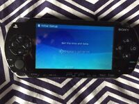Sony PSP 1003, Case & Selection of Games