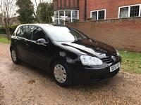 Vw Golf 1.4 FSI S, 5 Door, Metallic Black, 2006, Manual, Full Service History