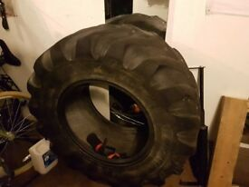 Exercise tyre