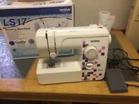 Brother sewing machine LS17 excellent working condition