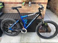Scott full suspension mountain bike