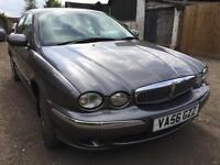 jaguar 2.2 diesel manual leather sat nav