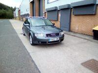 Audi A4 Avant 1.8T SE 5dr, 52 reg, Estate, 165k, manual drive, petrol. Full service history