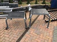 Jordan Fitness Plyometric Platforms used