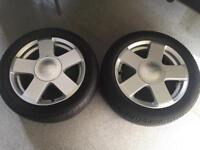 Ford Fiesta Alloy Wheels 195(50)R15 Or £45 Each.
