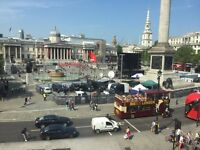 Self Contained Office Rooms With Views In Trafalgar Square Available To Let
