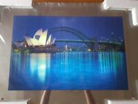 Beautiful light up/moving picture of Sydney Australia