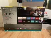 TV HISENS 55u7qftuk 55inch uled 4K ultra HD HDR