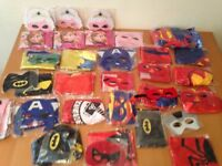 children boy and girl cap and mask job lot 25 x