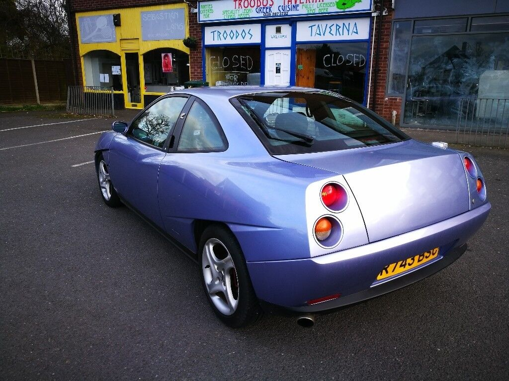 *L@@K* FIAT COUPE 20v TURBO* RARE CAR* LONG MOT