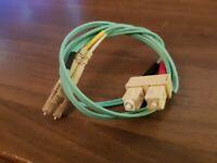 1 METER LC-SC-OM3DAQ1CL Fiber optic Cable - 121026001710031