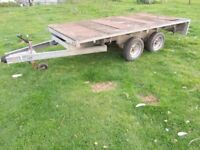 Indespension 10x5 Twin Axle trailer