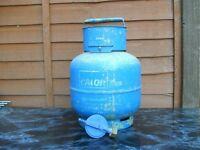 Calor gas 4.5 kg butane bottle & regulator
