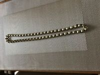 9ct gold belcher chain 102 grams