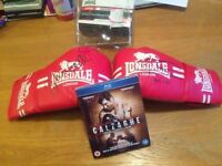 Joe Calzaghe Signed 46-0 Pair Of Boxing Clothes And Sealed Blu Ray Film £60 Plymouth