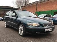 2002 Volvo v70 2.4 D5 Se auto estate 7 seater Automatic - Leather - Fsh