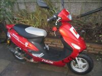 pulse scout 50cc starts runs and rides
