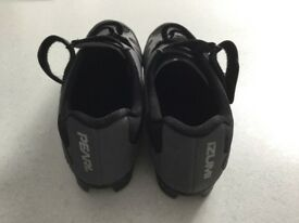 Cycling shoes with cleats, size 39, worn once