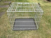 Dog cage for sale. . Size 24 inch in length / 18 inch in width / 21 inch in Height - £15.00