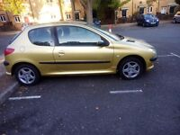 SMART AND NEAT PEUGEOT 206 FOR SALE