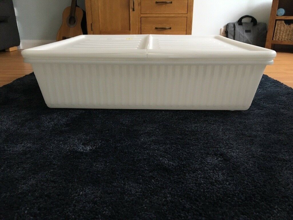 2 Ikea Dilling Gimse Underbed Storage Boxes In Gosport