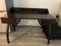 Stylish Work/Home Desk - Dark Brown