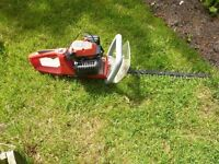 Sovereign Hedge cutter two stoke petrol little used.