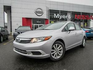 2012 Honda Civic ECON DRIVE, SUNROOF, BLUETOOTH, CRUISE CONTROL,