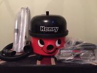 Henry Hoover / Vacuum Cleaner with New hose, poles etc