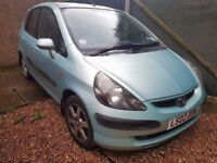 Honda Jazz 1.4 i-DSI SE Sport 5dr£350 p/x welcome HPI CLEAR, LOW MILEAGE SPARES/REPAIRS