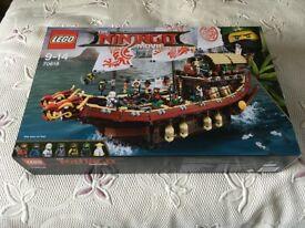 LEGO 70618 Ninjago Movie Destiny's Bounty – New (Collect Only)