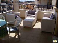 Costa Blanca. Spain. 2 bedroom, 2nd floor apt, English TV, A/C, Wi-Fi Jun/Jul £225 (SM038)