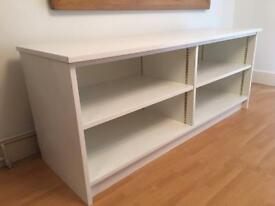 Modern Office Sideboard Storage Unit In White Matt Gloss