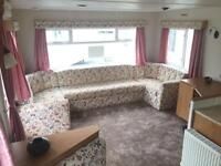 Double glazing central heated 2 bed room static caravan for sale ocean edge holiday park
