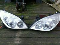Vectra c facelift headlights with hid kit