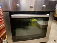 WHIRLPOOL ELECTRIC FAN ASSIST OVEN CAN BE DELIVERED AND FITTED