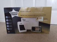 Brand New. Tommee Tippee digital video and movement sensor pad. Baby monitor. Never been opened.