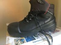 Men's new work boots size 8