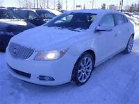 2012 Buick LaCrosse Leather heated seats and wheelm sun roof